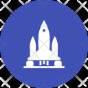 Rocket Spaceship Icon