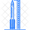 Rocket Launch Space Icon