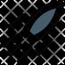 Rocket Missile Spacecraft Icon