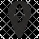Geo Point Pointer Icon