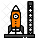 Rocket Base Spacship Icon