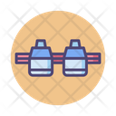 Rocket Carrier Plane Icon