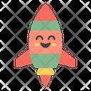 Rocket Emoji Icon