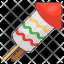 Rocket Firecracker Explosive Firework Icon