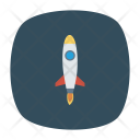 Rocket Launch Startup Icon