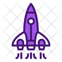 Rocket Launch Icon
