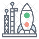 Space Shuttle Rocket Missile Icon
