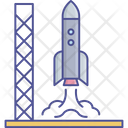 Launch Off Rocket Icon