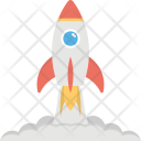Rocket Launch Missile Icon
