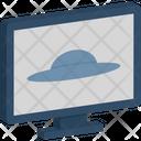 Abduction Space Ufo Icon