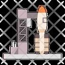Rocket Launcher Space Shuttle Rocket Ship Icon