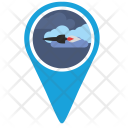 Rocket Location Space Icon