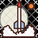 Rocket Lunch Rocket Spaceship Icon