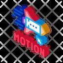 Work Rocket Objects Icon