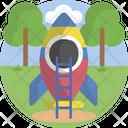 Slide Park Amusement Park Icon