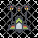 Rocket Space Game Rocket Gun Icon