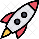 Rocket Space Science Icon
