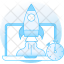 Rocket Speed Icon