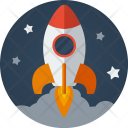 Rocket Startup Boost Icon