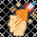 Rocket Creative Think Icon