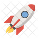Rocket Spaceship Rocket Launch Icon