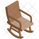 Rocking Chair Oak Furniture Chair Icon