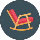 Rocking Chair Seat Icon