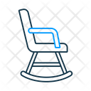 Rocking Chair Chair Furniture Icon