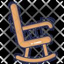 Rocking Chair Horse Toy Entertainment Icon
