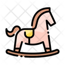 Rocking Horse Rocking Play Icon