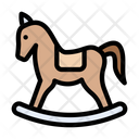 Rocking Horse Toy Icon