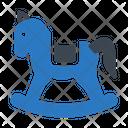 Rocking Horse Toy Icon