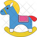 Rocking Horse Horse Horse Ornament Icon