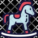 Rocking Horse Gift Holidays Icon