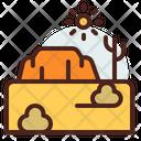 Rocks Desert Sand Icon