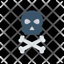 Roger Skeleton Danger Icon