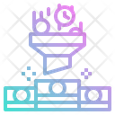 Roi Filter Funnel Icon
