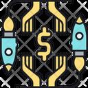 Roi Return Of Investment Money Icon