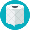 Roll Tissue Waste Icon