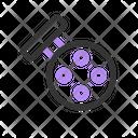 Fishing Reel Equipment Icon