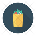 Fastfood Food Roll Icon