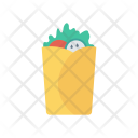 Roll Fastfood Food Icon