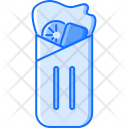 Roll Salad Meat Icon