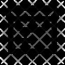 Roll Flat Menu Icon