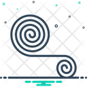 Roll Fabricmaterial Rope Icon