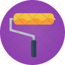 Roll Brush Paint Brush Painting Roll Icon