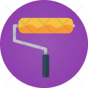 Roll Brush Wall Icon