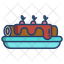 Roll Cake Roll Cake Icon