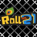Roll no 21 Icon