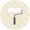 Brush Roller Color Icon